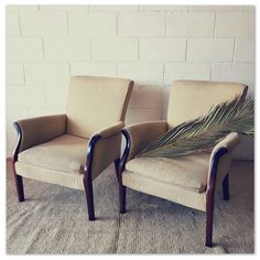 gorgeous vintage wooden cream upholstered Parlour armchairs - style your lounge - STUNNING! in the Chairs, Stools & Footstools category was sold for on 19 Sep at by Lifespace Homeware in Gauteng Wingback Chair, Armchair, Parlour, Extra Seating, Accent Chairs, Lounge, Furniture, Vintage, Link