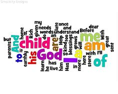 """A Child of God. BIBLE SCRIPTURE: Ephesians 1:5, """"Having predestinated us unto the adoption of children by Jesus Christ to himself, according to the good pleasure of his will,"""" - http://access-jesus.com/Ephesians/Ephesians_1_5"""