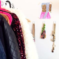 All packed up for the next adventure!! Here's a look at my makeshift closet in my room in Prague made much cuter by this chic @historyinhighheels print! Shop the print the red sequin dress the white fluffy jacket & my favorite sparkly holiday jewels at the link@liketoknow.it www.liketk.it/1XyxZ #liketkit #preppyprintshop #closetspace #accessories #jewels by amybelievesinpink
