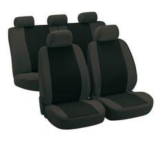 Autositzbezug Classic grau/schwarz