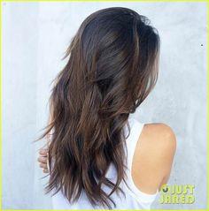 Nina Dobrev Flaunts New 'Almond Truffle' Hair Color | nina dobrev new haircut 7 11 04 - Photo