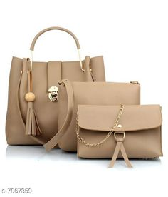 Handbags Stylish Women's Handbag Material: PU No. of Compartments: 1 Pattern: Solid Multipack: 1 Sizes:Free Size (Length Size: 28 in Width Size: 12 in Height Size: 28 in) Country of Origin: India Sizes Available: Free Size *Proof of Safe Delivery! Click to know on Safety Standards of Delivery Partners- https://ltl.sh/y_nZrAV3  Catalog Rating: ★3.9 (11897)  Catalog Name: Free Mask Stylish Women's Handbag CatalogID_1127696 C73-SC1073 Code: 116-7067359-