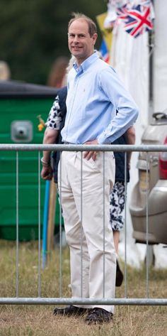 25th June 2017: The Duke of Edinburgh, The Queen and The Wessex Family attended Guards Polo Club in Windsor to watch Lady Louise Windsor perform in a carriage driving event.
