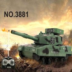 Baby toys 4CH 1:30 large RC Tank boy toys Remote Control Tank Mini Tiger battle Tank fire BB bullets shooting kids toys Gifts