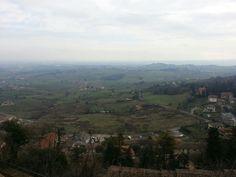View from Bertinoro castle