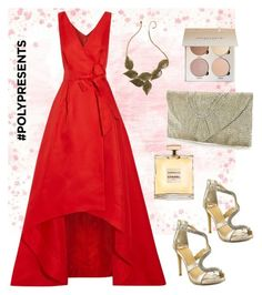 """""""#PolyPresents: Party Dresses"""" by ania-personal-stylist on Polyvore featuring Oscar de la Renta, Thalia Sodi, contestentry and polyPresents"""