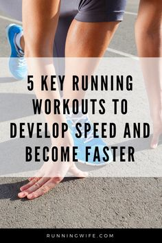 5 Key Running Workouts to Develop Speed and Become Faster - Running Wife - Running Mom, Loving Wife, Beach Bum at Heart Sprint Workout, Speed Workout, Track Workout, Speed Training, Running Training, Running Tips, Outdoor Running Workouts, Running Plans, Running Drills