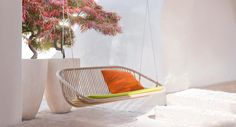 Swing © Paola Lenti srl #paolalenti #architecture #furniture #design #decor #designfurniture #complements #creativefurniture #moderndecor #outdoor #outdoorfurniture #outdoordesign #outdoordecor #exterior #exteriordesign #exteriordecor #exteriorfurniture #lawnswing