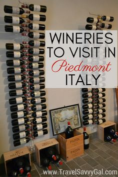Details about the best wineries to visit in Italy's Piedmont region (Piemonte in Italian), one of the 2 best Italian regions for wine along with Tuscany. Includes details on tastings of many well-known wines like Barolo, Barbaresco, Barbera, Dolcetto d'Alba, and Moscato d'Asti. Whether you're in town for the famous Alba truffle festival in fall or at another time of year, check out where to get the best tastings of local grape varietals!