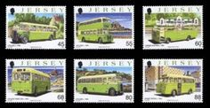 Buses III – The J.M.T. stamps from Jersey,  Jersey Post issued a set of six stamps to celebrate the 90 years of the Jersey Motor Transport company (the J.M.T.).    Jersey Motor Transport, as it was universally known, dominated public transport in Jersey for 90 years already. It was launched in 1923 in Jersey's Royal Court with a share capital of £4,500, largely owned by F T Hare and his relatives.  http://www.stampnews.com/stamps/stamps_2013/stamp_buses-iii-the-j-m-t-stamps-from-jersey.html