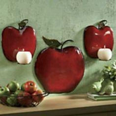 105 Best Apple Kitchen Decor Images Apple Kitchen Decor