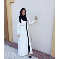 www.annahariri.com Dearest sister YaseminYazTheSpaz89is wearing Tobe abaya.…