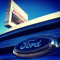 Things are looking up! Hope your day is filled with #blueskiesandblueovals everyone! #RacewayFord