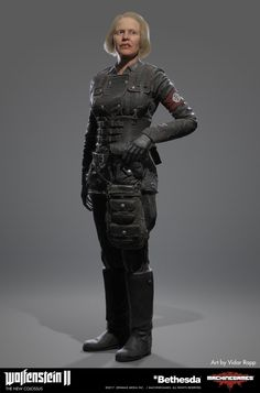 The New Colossus, Wolfenstein, Winter Jackets, Irene, How To Wear, Undercover, Soldiers, Video Game, Games