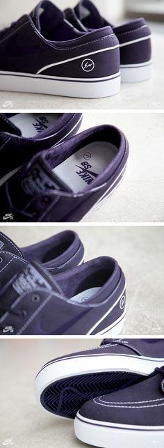 fragment design x Nike SB Zoom Stefan Janoski (Detailed Pictures)