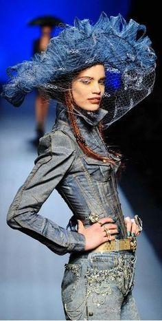 Denim: Jean-Paul Gaultier Haute Couture Spring/Summer 2010