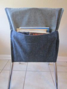 Denim Classroom Chair Covers
