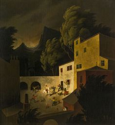 Franz Sedlacek (Austrian, 1891-1945) - City (Stadtbild), 1929
