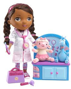 Wow! Find out how to get this very popular Just Play Doc McStuffins Magic Talkin' Doc & Friends Doll for only $24 (Reg. $49.99)!   Click the link below to get all of the details  ► http://www.thecouponingcouple.com/just-play-doc-mcstuffins-magic-talkin-doc-friends-doll-only-24-reg-49-99/
