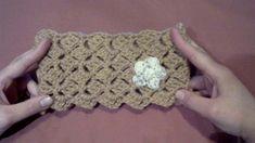 Πλεκτη Κορδελα #2 / Crochet Crazy Shell Stitch Headband Tutorial