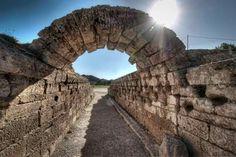 Ancient Olympia, Stadium Entrance.
