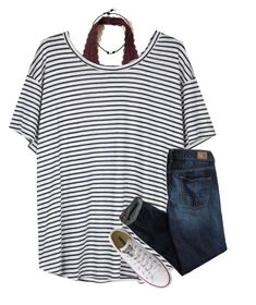 {kinda grunge} by southerngirl03 on Polyvore featuring Organic by John Patrick, American Eagle Outfitters, Hollister Co. and Converse