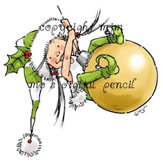 Digital stamp Little Elf Mim by Mo Manning Christmas Stickers, Christmas Clipart, Christmas Elf, Christmas Cards, Christmas Applique, Christmas Ornament, Christmas Bulbs, Cartoon Drawings, Cute Drawings