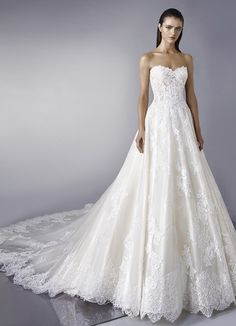 39fce04ce2 Courtesy of Enzoani Wedding Dresses  Wedding dress idea. Gorgeous Wedding  Dress