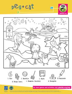 peg cat coloring pages-#19