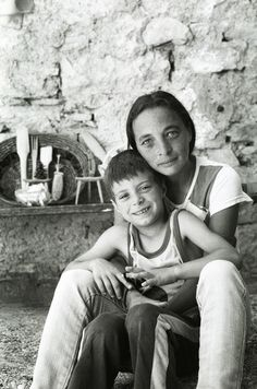 """This boy is one of the few kids that still live in the small abandoned town of """"Casso (PN)"""" due to the Vajont dam disaster.   His mother's words were so heart breaking and in some way it made me remember the destiny of many abandoned houses and towns that palestinans left behind during the Nakba."""