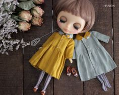 HANON Workshop kit (Linen Coat Yellow) for blythe