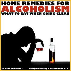 Natural Cures Not Medicine: Home Remedies For Alcoholism