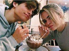 "@HazelVelas1011 : ""first milkshake with my Prince in Malibu ♡ love you boo."" I post to insta"