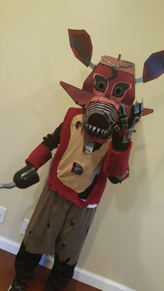 five nights at freddys foxy costume