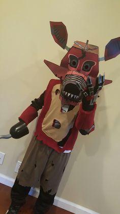 Five nights at Freddy's Foxy costume