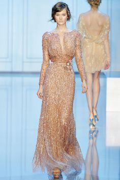 pearly pink dress- Elie Saab