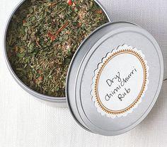 Dry Chimichurri Rub | Epicurious.com