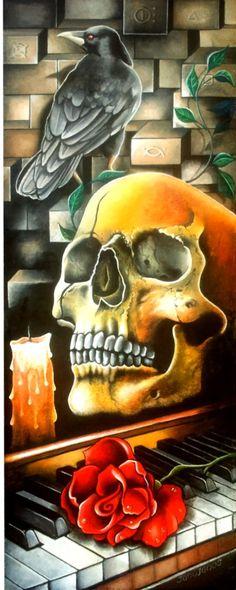 dark still life Still Life, Dark, Painting, Painting Art, Paintings, Painted Canvas, Drawings