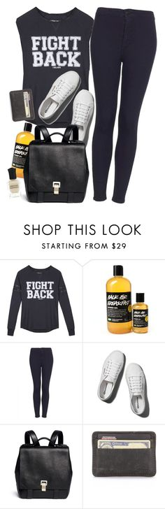 """""""Back For Breakfast"""" by pizzarolls ❤ liked on Polyvore featuring Topshop, Abercrombie & Fitch, Proenza Schouler, Deborah Lippmann, topshop, superga and proenzaschouler"""