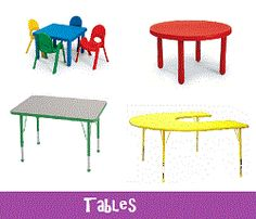 preschool table and chairs. Daycare Furniture, Nap Cots, Child Care Preschool Tables, Toddler Tables Table And Chairs