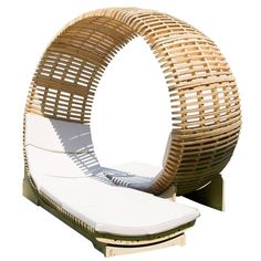 Loopita, Contemporary Outdoor Chaise Lounge for Two | From a unique collection of antique and modern chaise-longues at https://www.1stdibs.com/furniture/seating/chaise-longues/