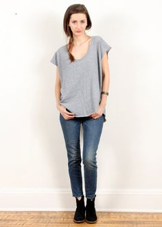 cb7b885e47fd My Line Vivienne Short Sleeve Sweatshirt - Cozy. Street Style Blog