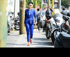Esther Quek - Tommy Ton Shoots All the Action at the Spring 2014 Menswear Shows