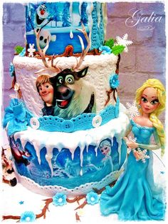 FROZEN 2 - Cake by Galia Hristova – Art Studio