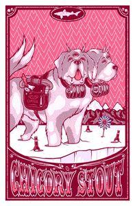 Image of Dogfish Head 2013 Seasonal Art Prints A/P Edition - Chicory Stout