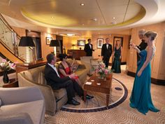 Cunard Cruise Line: Grand Duplex Suite