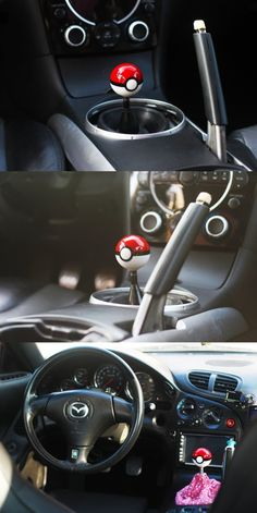 Pokemon Pokeball Round Shift Knob