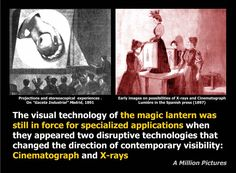 A Million Pictures - European Research Project. The culture of Magic Lantern and the connections whit Digital Culture Screen 4 of 12
