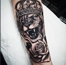 Resultado de imagem para tattoo leao no antebraço