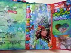 Great You tube channel on how to create art journal backgrounds, ATCs and more.
